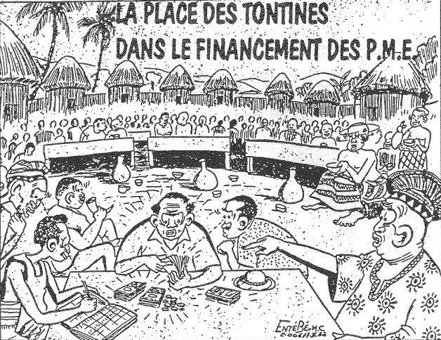 Dessin Humoristique  Afrique  1982